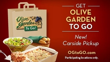 Living laughing loving olive garden to go 15 - Does olive garden deliver to your house ...