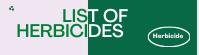 List of herbicides