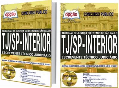 Apostila TJ-SP 2018 Escrevente Técnico Judiciário