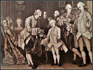 Ο νεαρός Μότσαρτ ανάμεσα σε ευγενείς