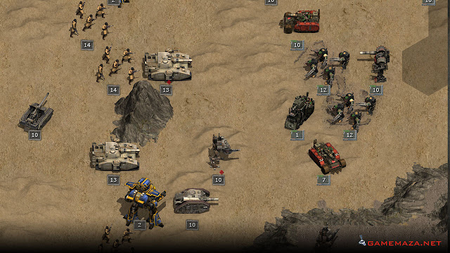 Warhammer 40000 Armageddon Gameplay Screenshot 1