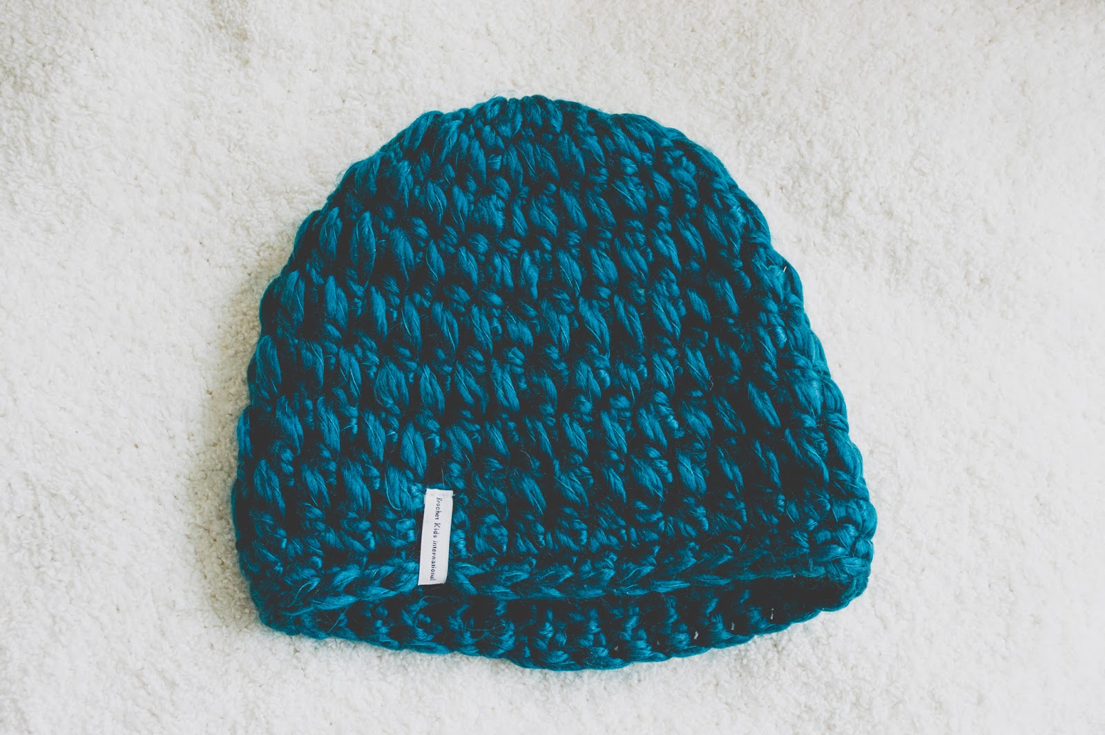 Krochet Kids Intl Teal Betty Hat Conscious Commerce Birchbox
