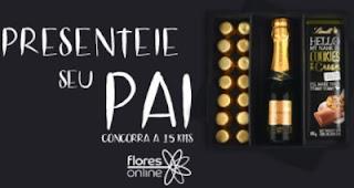 Cadastrar Promoção Dia dos Pais 2017 Antena 1 e Flores Online