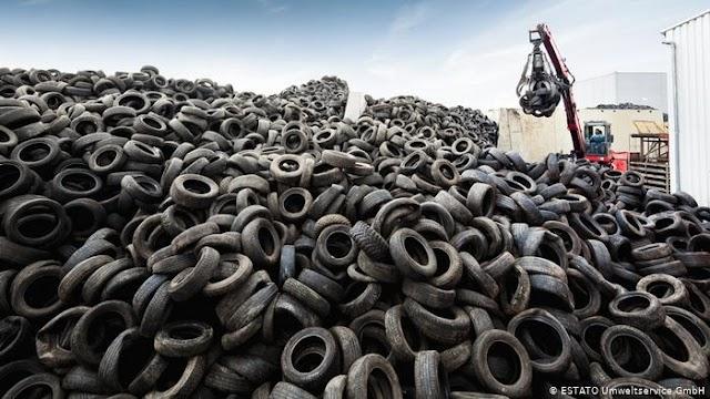 Νέοι τρόποι ανακύκλωσης των ελαστικών