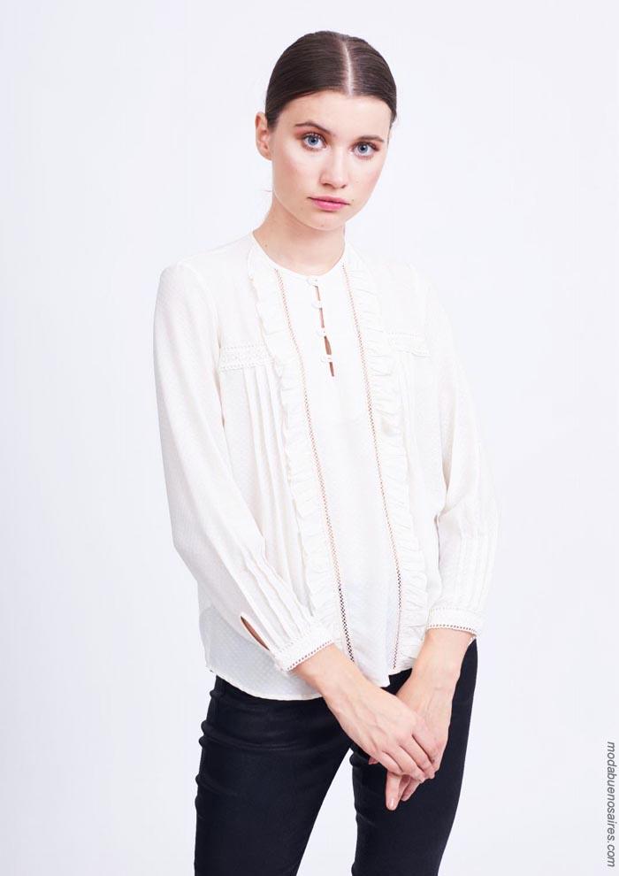 Blusas y camisas otoño invierno 2019. │ Moda otoño invierno 2019.