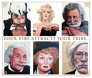 Your Tribe by Boulder portrait artist Tom Roderick