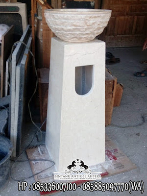 Jual Produk Wastafel Marmer, Wastafel Pedestal Marmer, Wastafel dan Kaki Marmer