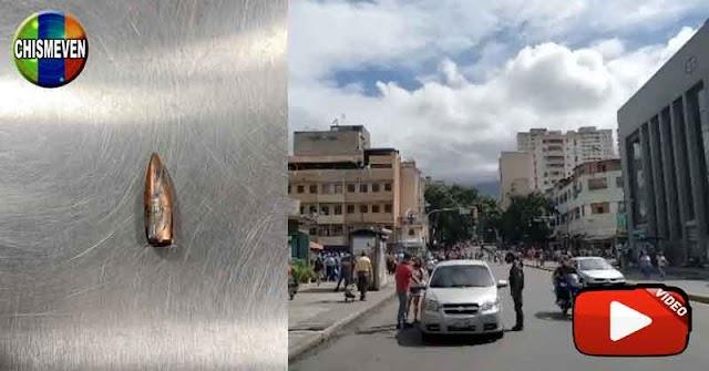Hasta en Quinta Crespo llegaron las balas frías del tiroteo entre el Koki y la GNB