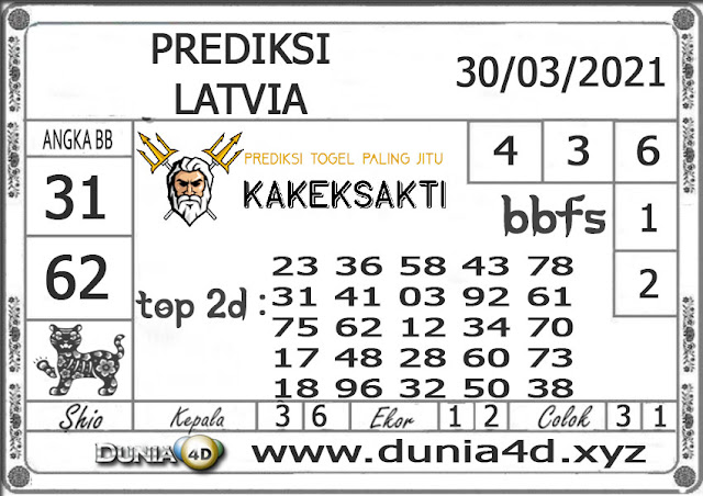 Prediksi Togel LATVIA DUNIA4D 30 MARET 2021