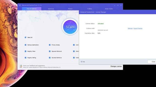 Advanced SystemCare Pro 12.5.0.354 - Tối ưu hóa máy tính 2019