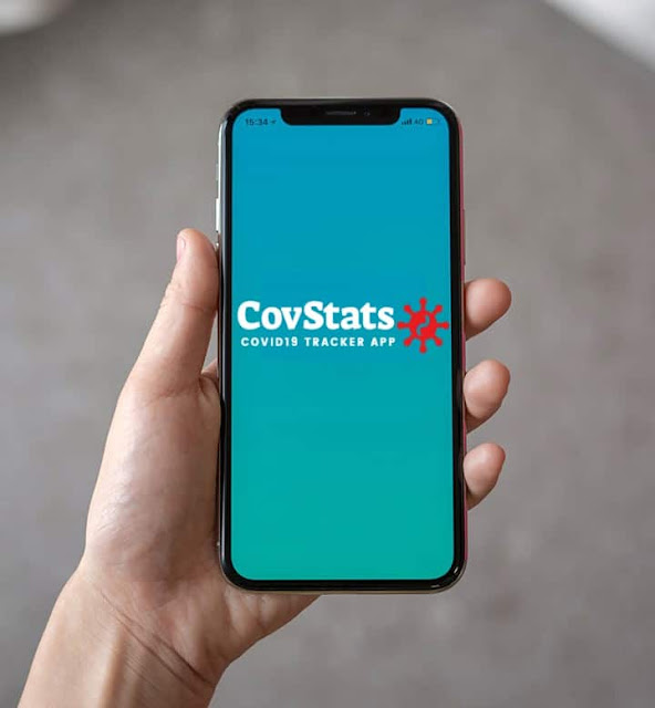 Download CovStats COVID-19 Tracker App