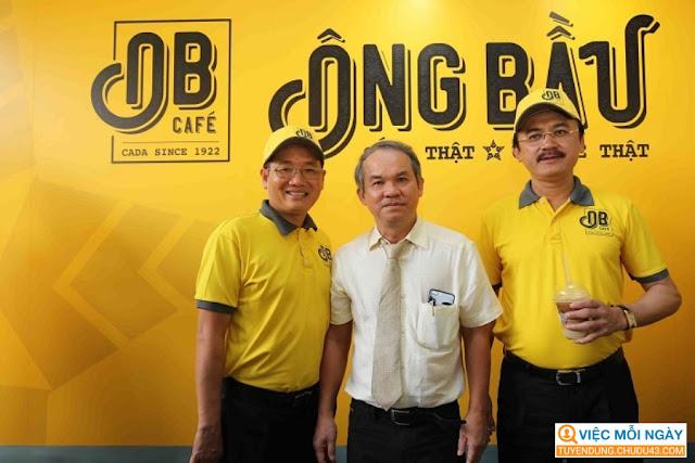 Chuỗi Cà Phê Ông Bầu Đà Nẵng tuyển dụng, cafe ong bau da nang tuyen dung, tuyen dung da nang