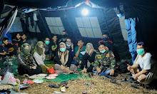 Pererat Silaturahmi, GP Ansor dan Banser Kemah Bakti di Taman Wisata Puncak Bila