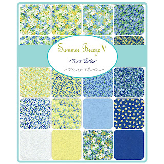 Moda Summer Breeze V Fabric by Moda Fabrics