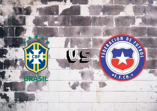 Brasil vs Chile  Resumen y Partido Completo