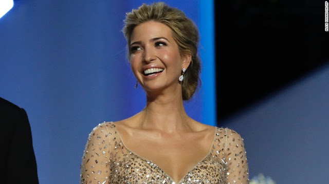 Ivanka Trump steps into role behind her father