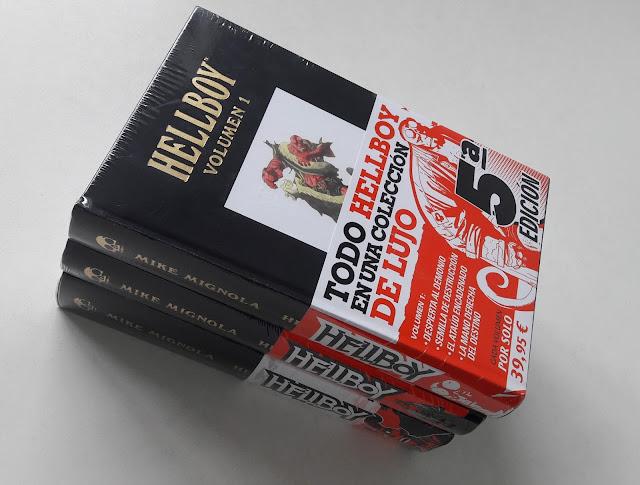HELLBOY. Edición Integral colección