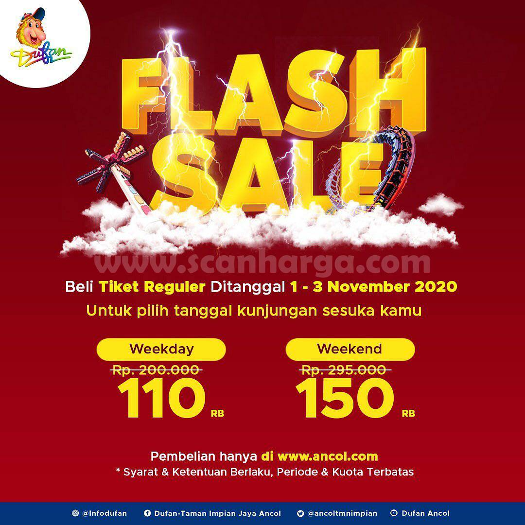 DUFAN FLASH SALE - Beli Tiket Sekarang waktu Kunjungan Suka Suka!