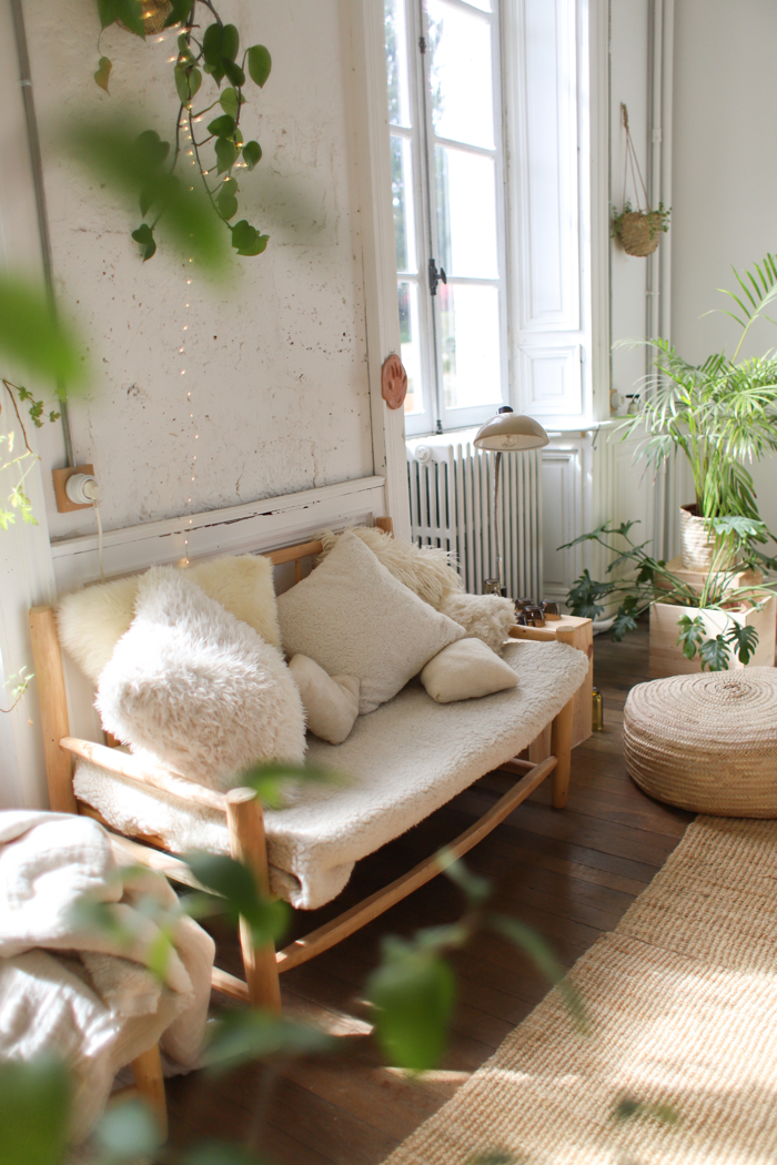 Green With Envy- design addict mom #plants #livingroom