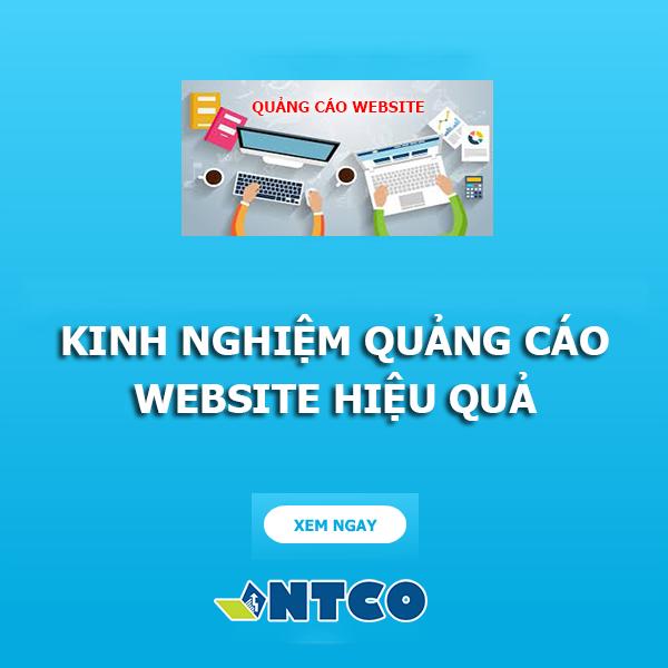quang cao website