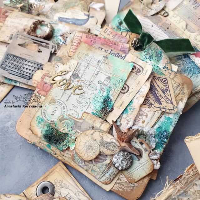 @nastyalena #scrapbookingdies #mimicut #minialbum