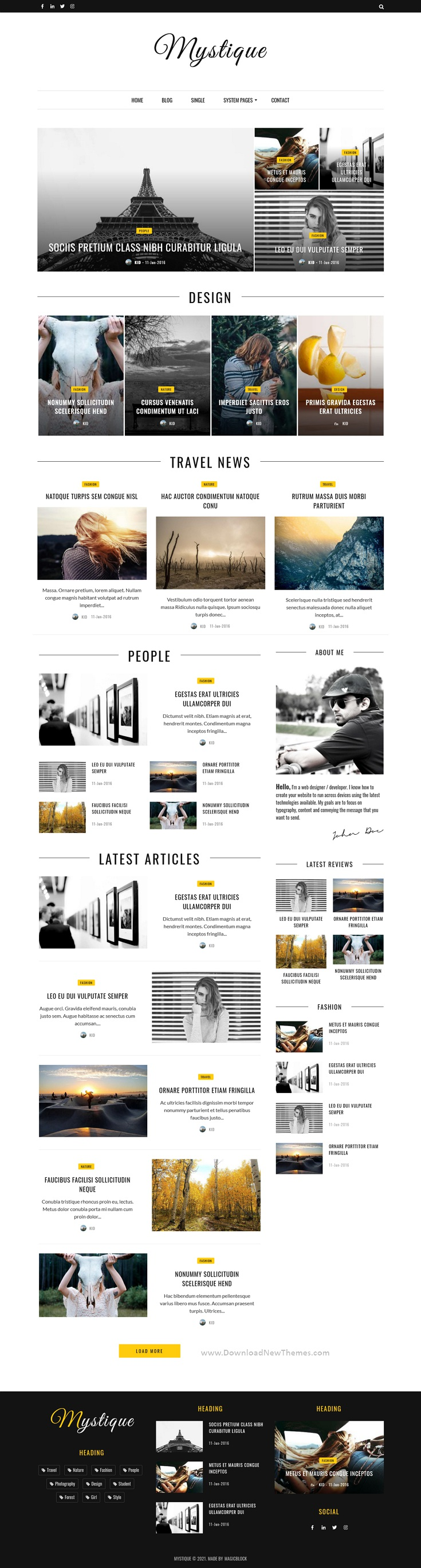 Hubspot Theme for Blog and Magazine