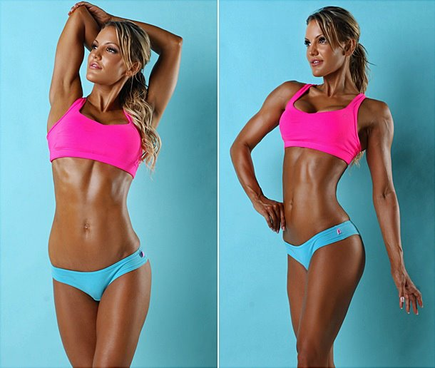 Sarah Allen - beauty fitness models