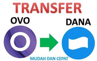 Cara Transfer OVO ke DANA