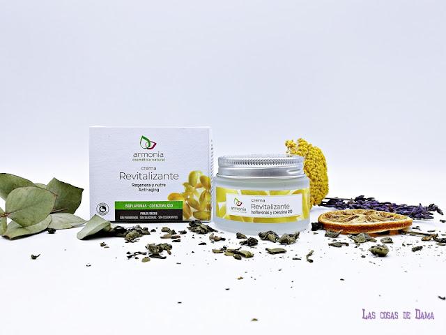 Crema Revitalizante Armonía Cosmética Natural facial cremas beauty belleza skincare reciclar