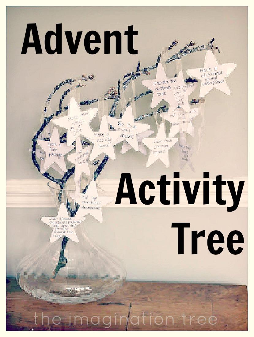 advent activity tree the imagination tree. Black Bedroom Furniture Sets. Home Design Ideas