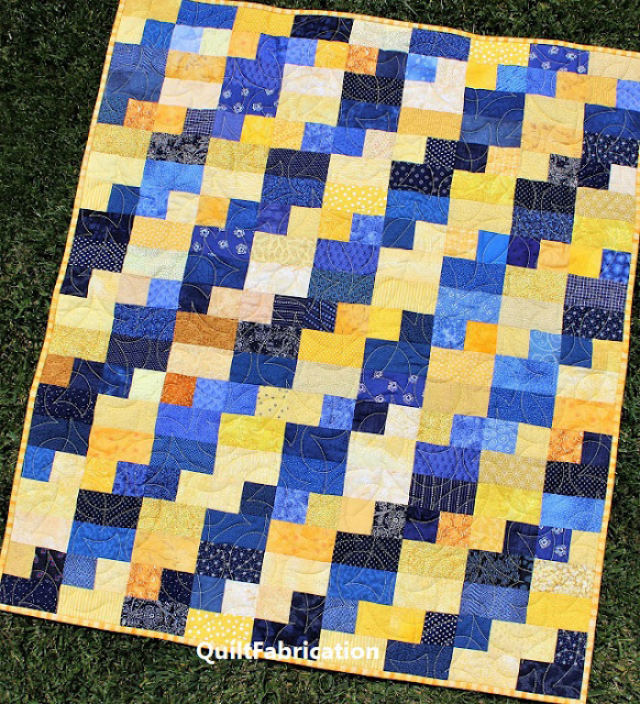 Celilo baby quilt pattern by QuiltFabrication