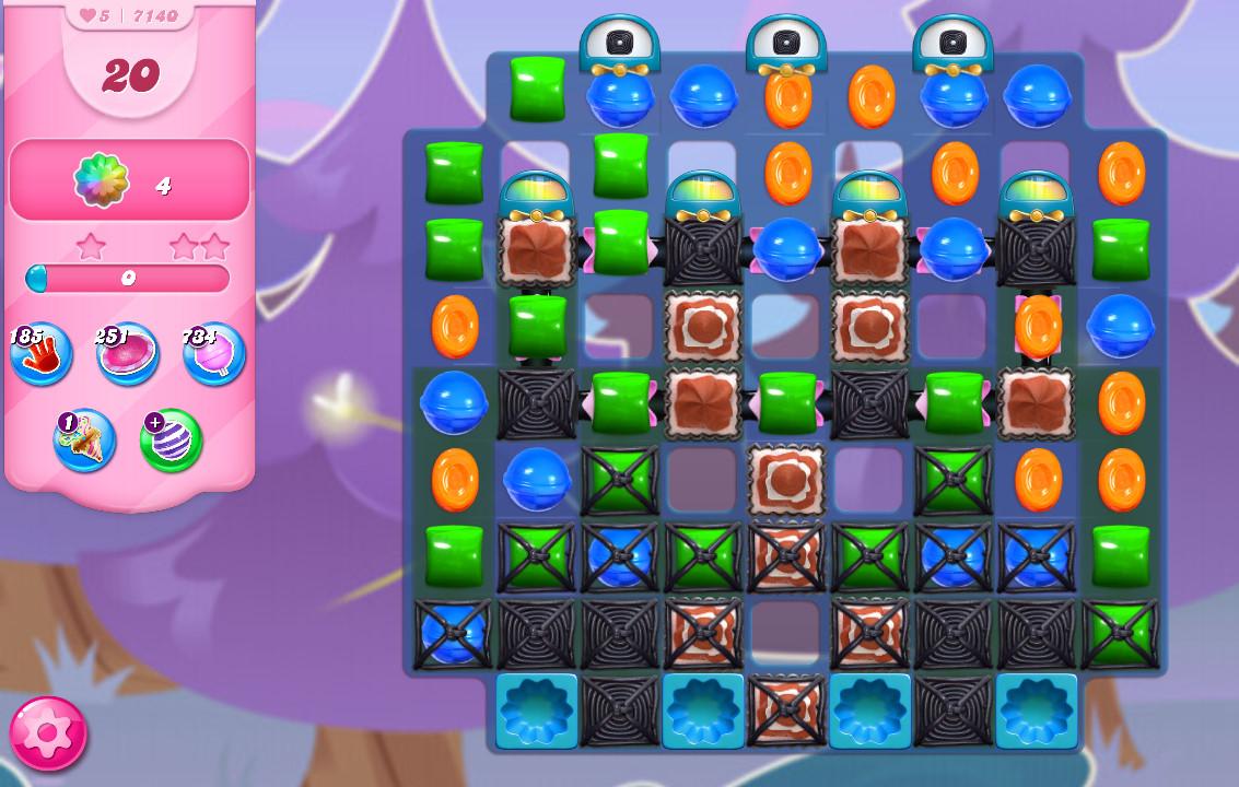 Candy Crush Saga level 7140