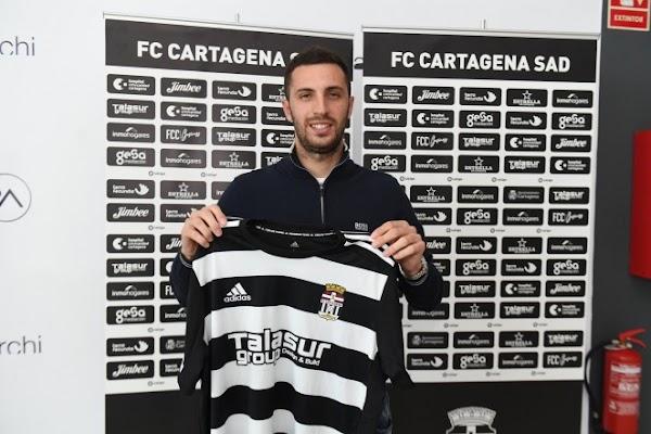 Oficial: FC Cartagena, firma Aburjania