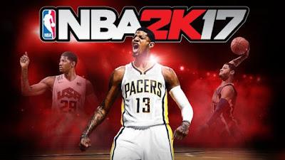NBA 2K17 adalah salah satu game yang mengusung tema olahraga yaitu permainan basket yang up to date setiap saat.