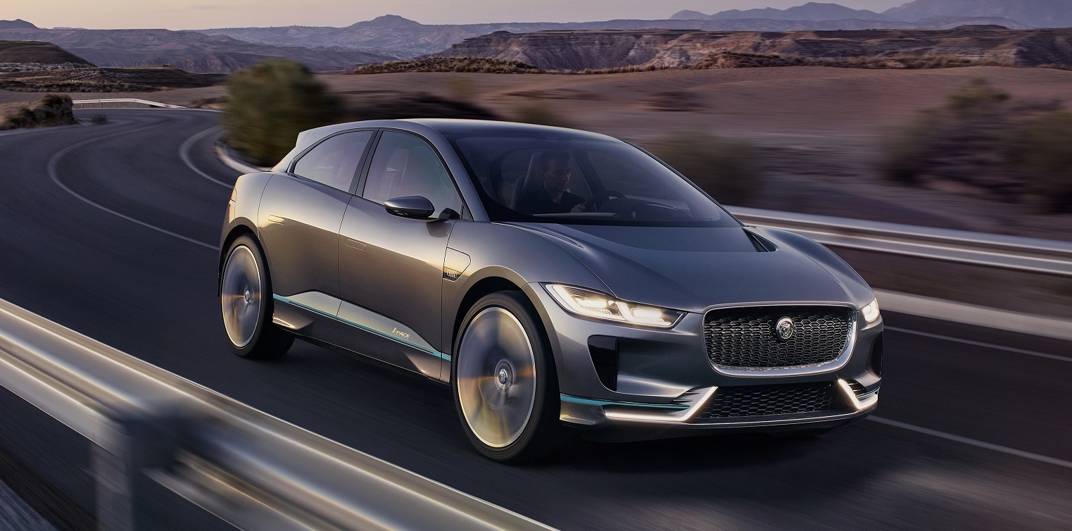 Jaguar I Pace Ev Concept With Awd And 500 Km Range