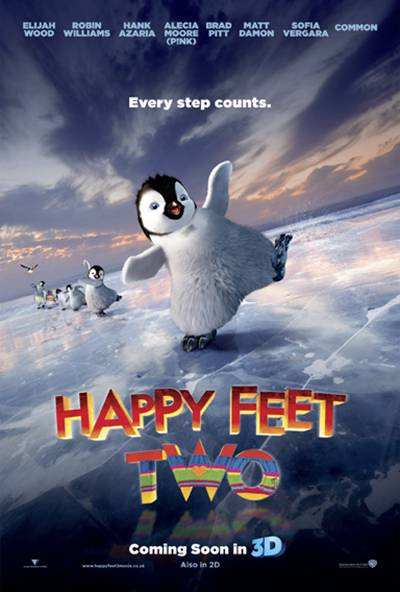 Happy Feet Two 2 2011 DVDRip Español Latino Descargar 1 Link