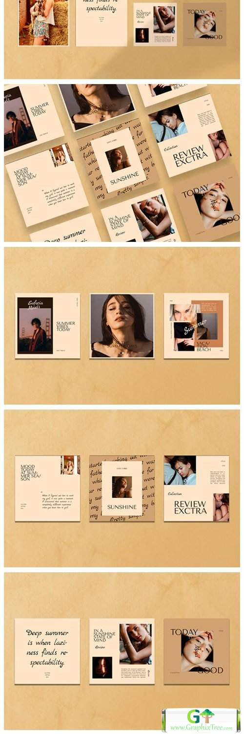 Summer Collection Instagram Templates[Photoshop][4696782]