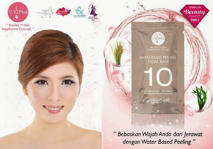 Review V10 Plus Water Based Peeling Gel