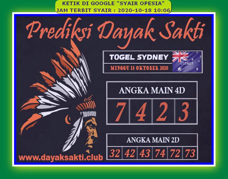 Kode syair Sydney Minggu 18 Oktober 2020 112