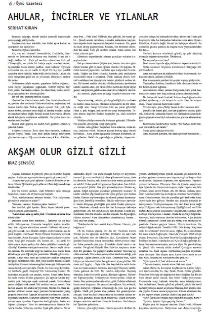Öykü Gazetesi 32.Sayı Sayfa 6