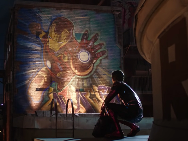 spider man: far from home is now on big screen