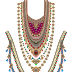 Jewelry Necklace for Textile Print Design