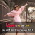 Love is Like The Wind - Love Quotes
