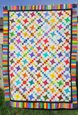 scrap quilt from sew yummy