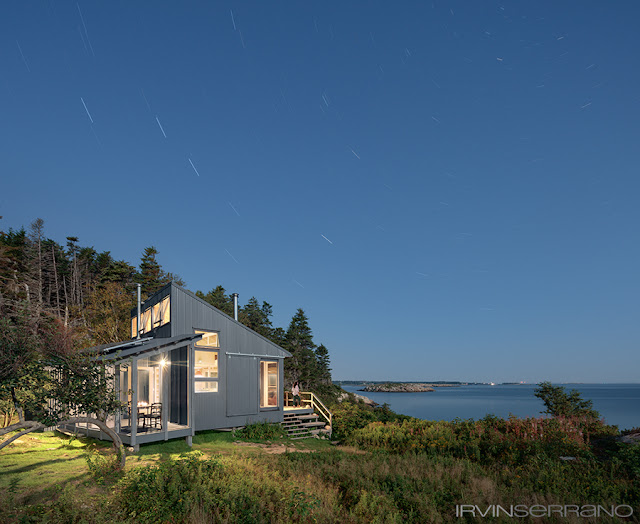 Small home in remote Maine island