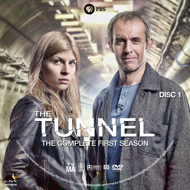 The Tunnel Season 1 Disc 1 DVD Label