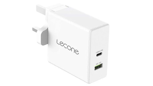 5. Lecone 60W USB-C Wall Charger
