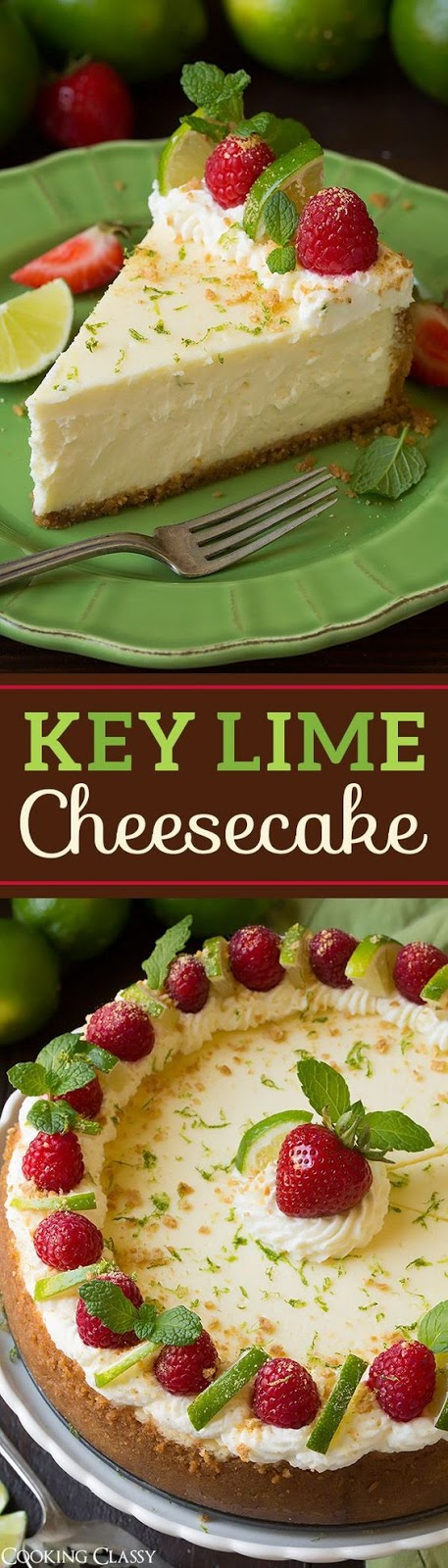 Key Lime Cheesecake Recipes