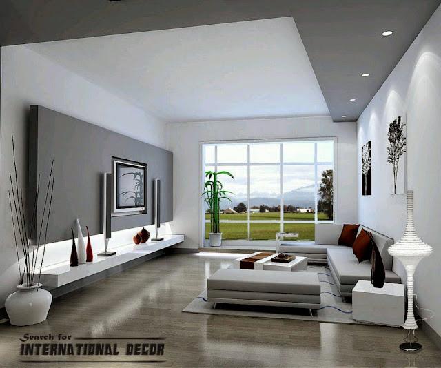 Modern Interior Design Ideas With Modern Lounge Sofa