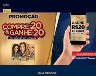 Cadastrar Promoção Niely Cor & Ton Compre e Ganhe Bônus Celular 20 Reais 2020